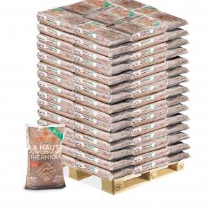 Granulés bois Piveteau - Palette 104 sacs de 10 kg