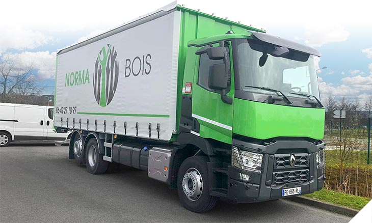 Camion Norma'Bois